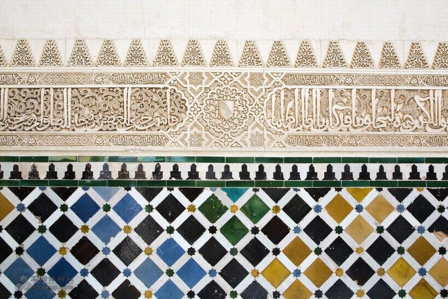 马赛克拼花应用于室外墙面设计