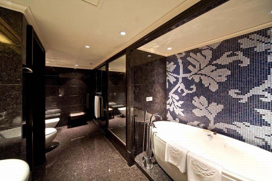 唯美的浴室风格