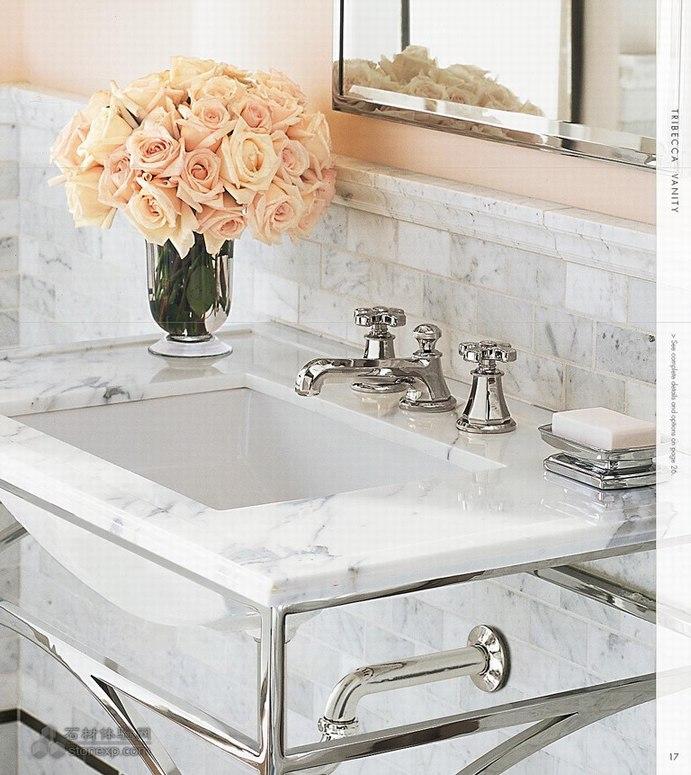 简洁明快的洗手池