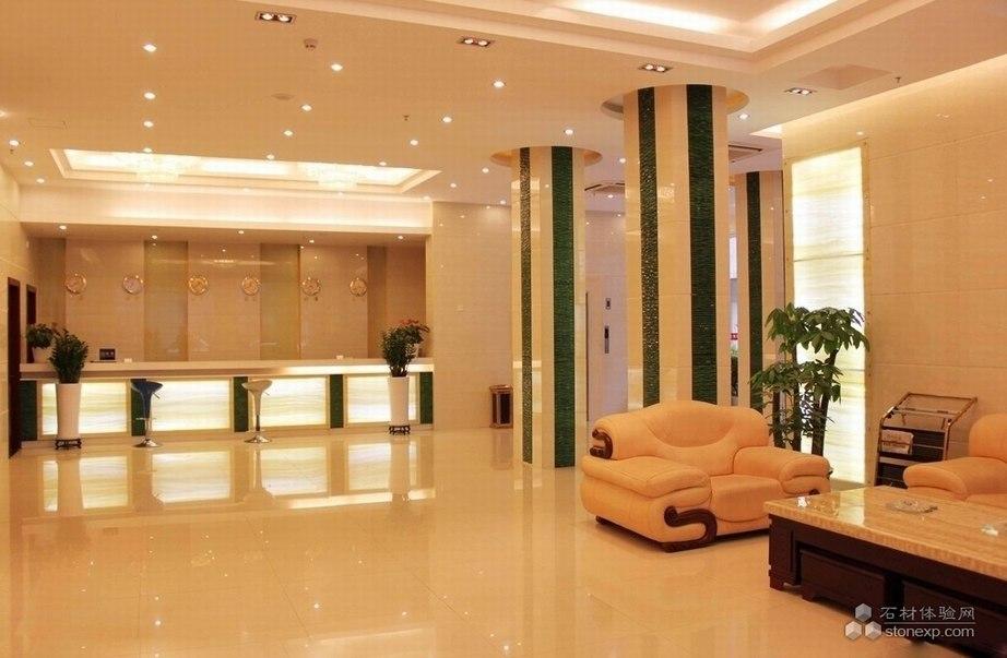 酒店前台及休息区设计