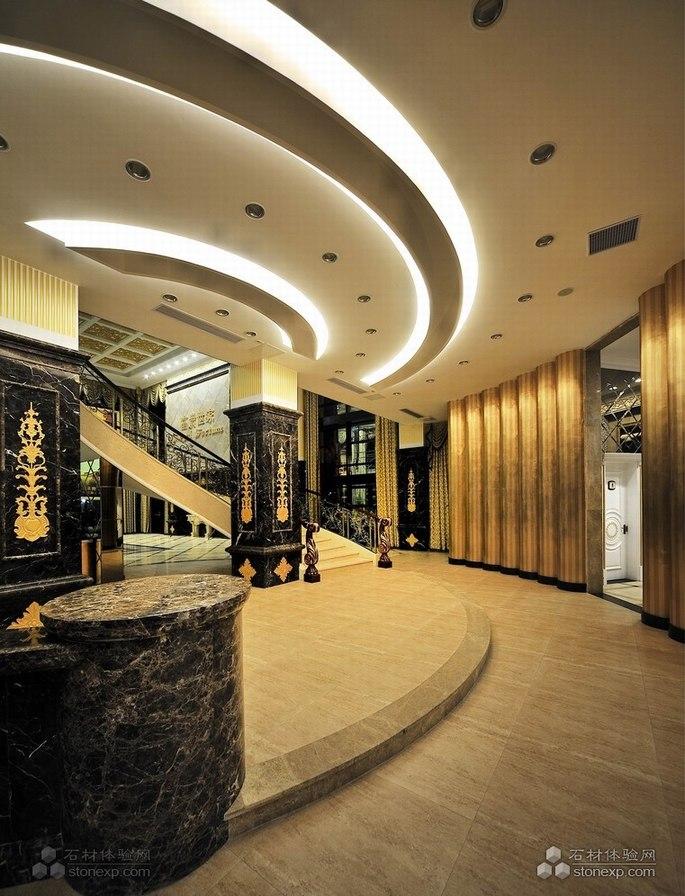 欧式风格酒店 大堂地面应用之二