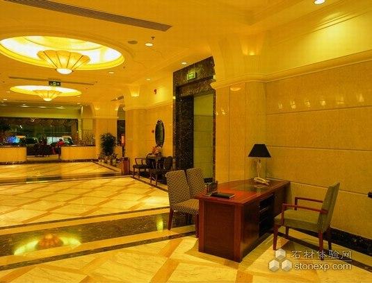 国外酒店 石材地面应用