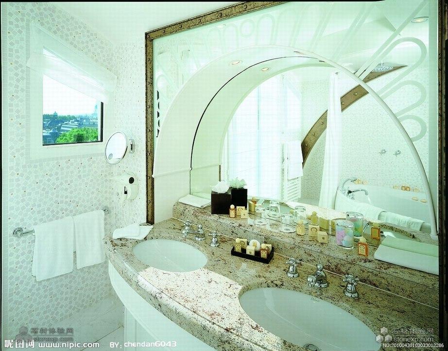 风格明快的洗手池