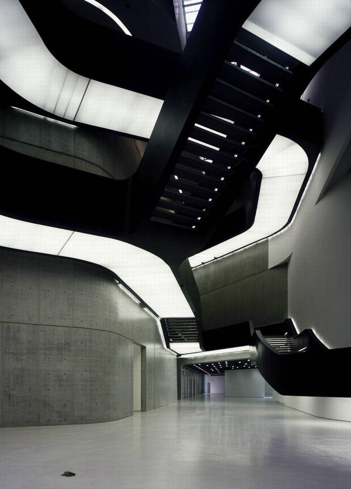 二十一世纪博物馆 扎哈·哈迪德大师作品