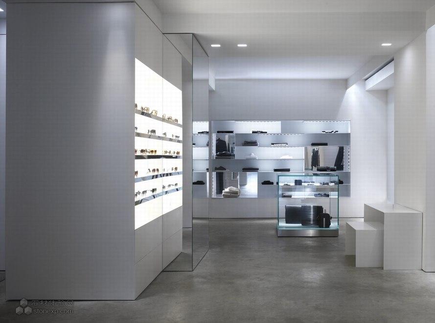 路易莎罗马街专卖店设计 Claudio Nardi设计师作品