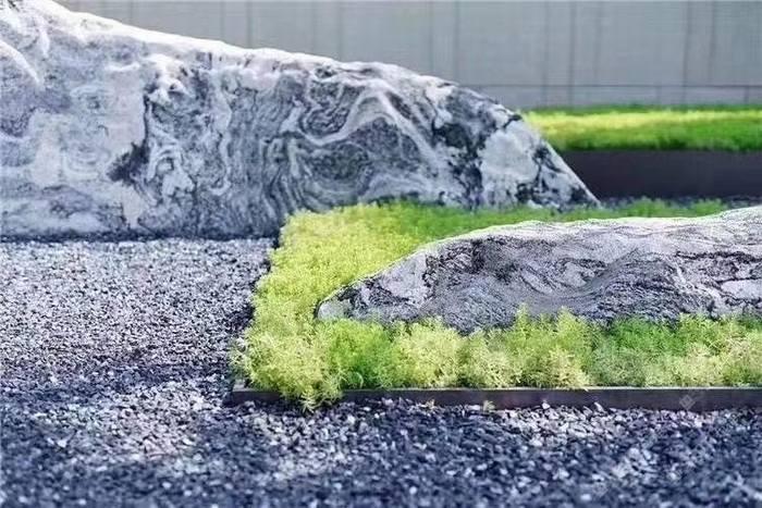 鹅卵石批发 黑色砾石 白石砾石 尺寸齐全 园林景观