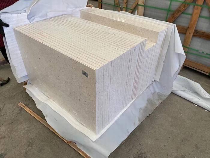 贝金米黄大理石福建厂家生产定制瓷砖地板砖背景墙干挂