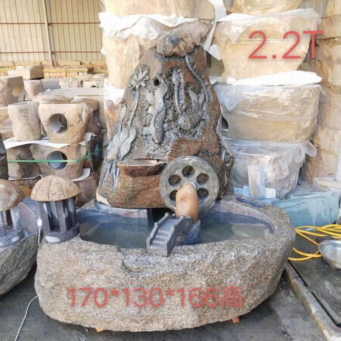 天涯文化石:假山流水供应