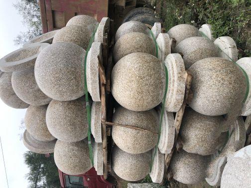 田中石业路标,车挡石,车止石,圆球,栏杆大量供应