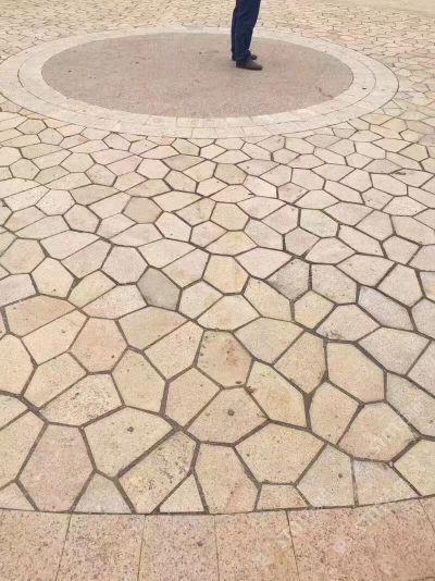 地铺石,冰裂纹,布丁石,蘑菇石艺家研石石材工艺