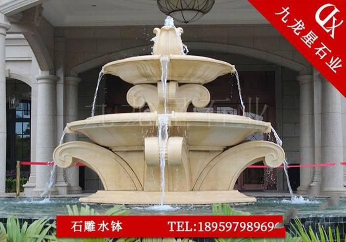 大型喷泉图片 福建景观喷泉石雕厂家