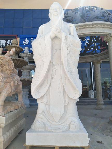 孔子:傳統人物雕塑