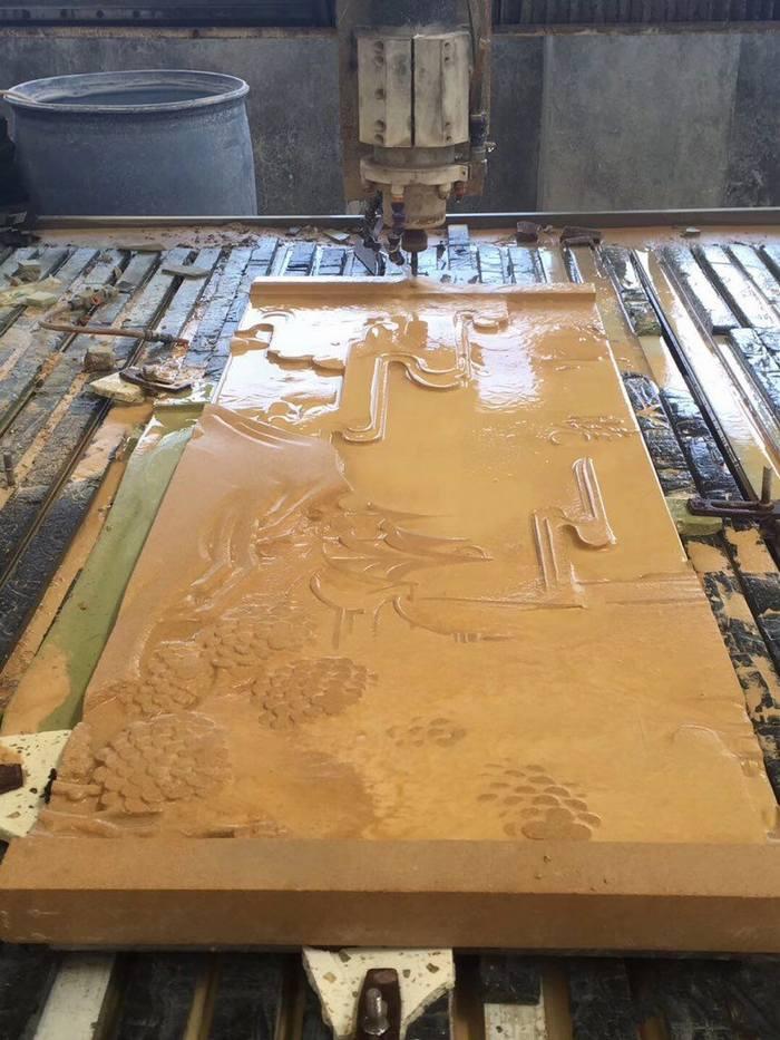 黄金砂岩(雕刻首