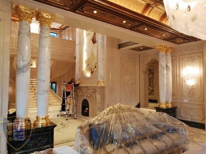 十年專注豪宅別墅石材裝飾