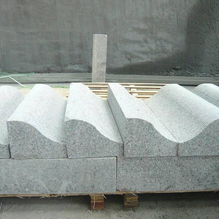 芝麻白、芝麻灰、桂林灰、海浪花等均可加工异形路沿石
