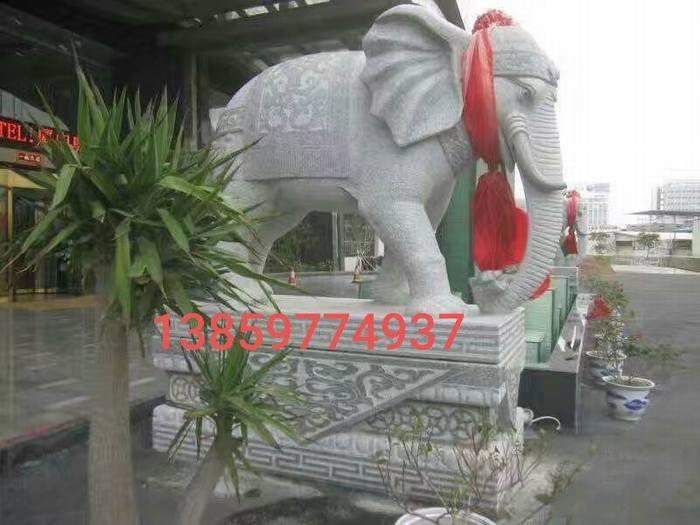 惠安鼎艺石雕刻大象