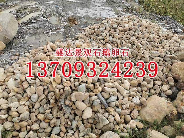 天然鹅卵石小溪石河卵石砾石天然石材自然河石批发