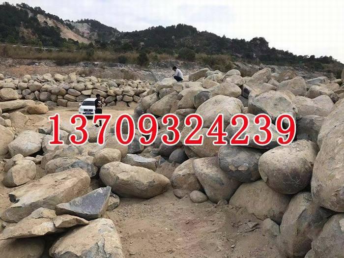 天然石材小溪石景观石风景石鹅卵石黄蜡石河卵石批发