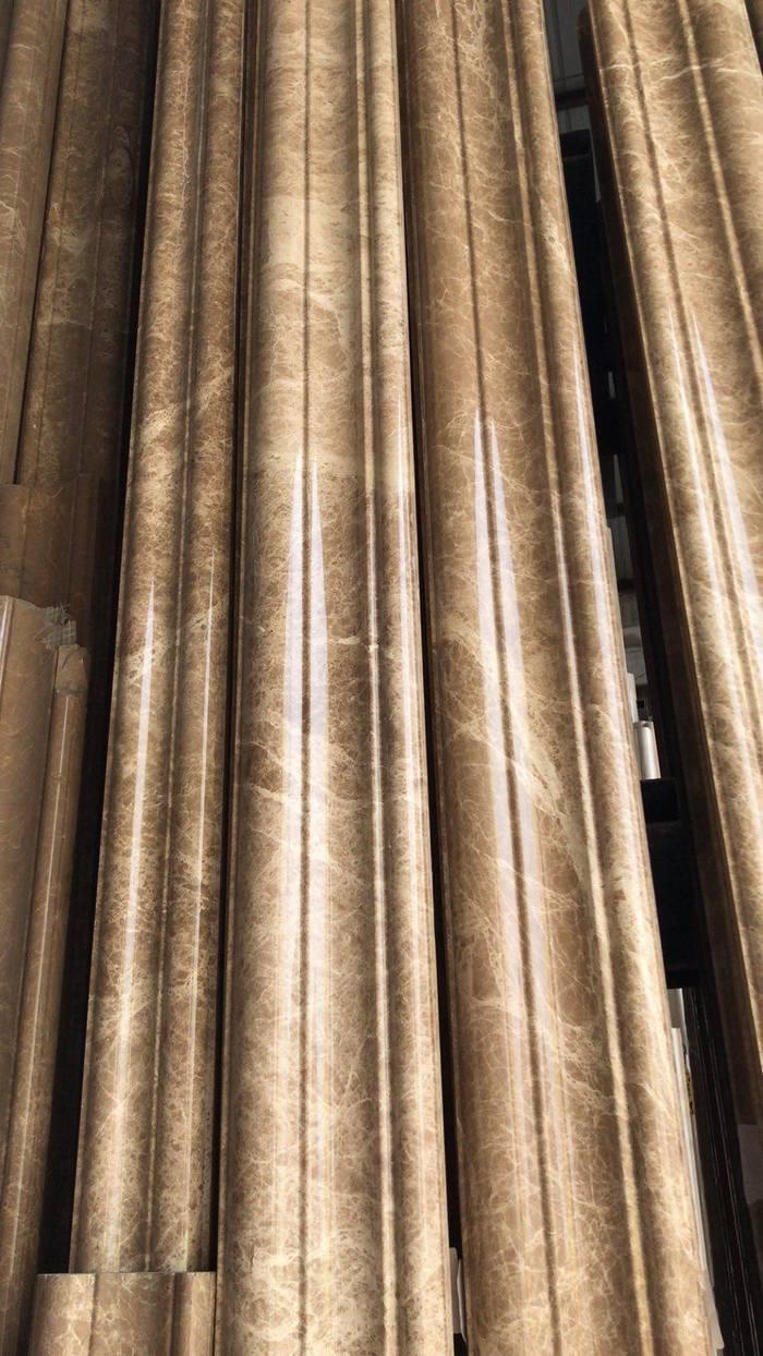 浅啡网电梯门套工程定制线条水晶浅啡线条