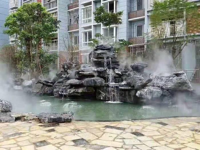 黑太湖石批发 假山风景石 景观石 置石 园林景观