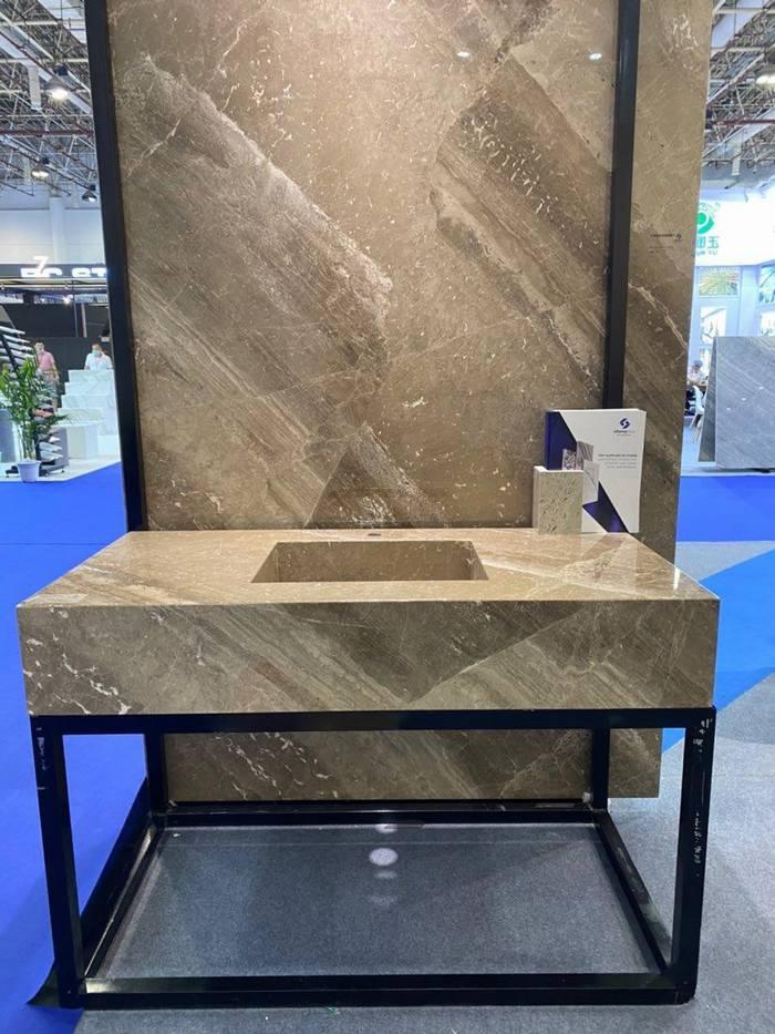 普拉斯帝諾棕PVC復合板可做臺面浴室護墻板