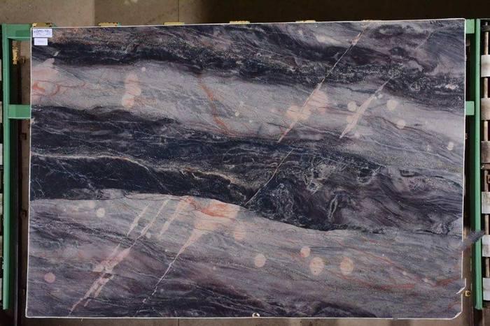 卡拉图蓝(巴西奢石)石英岩