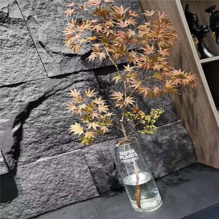 天然石皮自然面背景墙