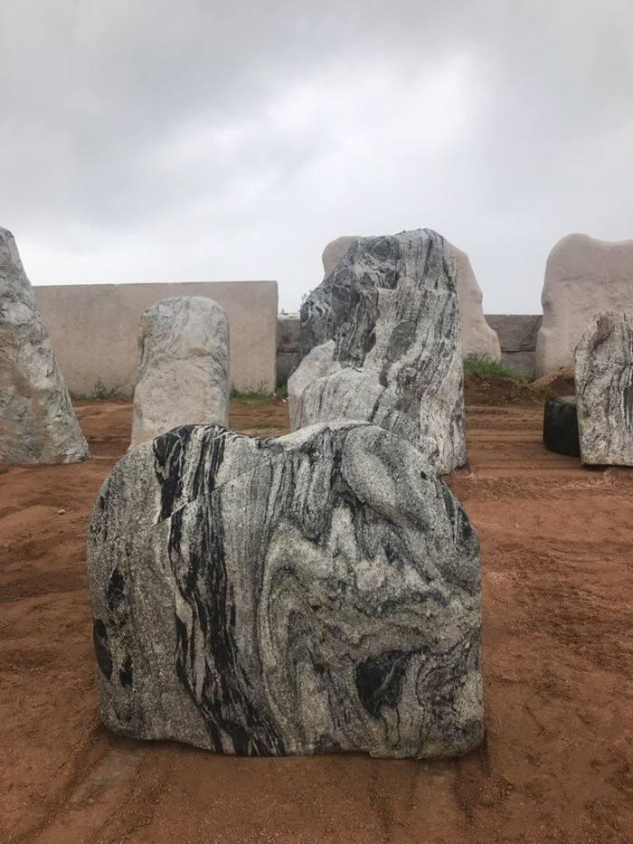 浪淘沙风景石-泰山石
