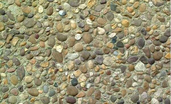 ps素材平面卵石道路