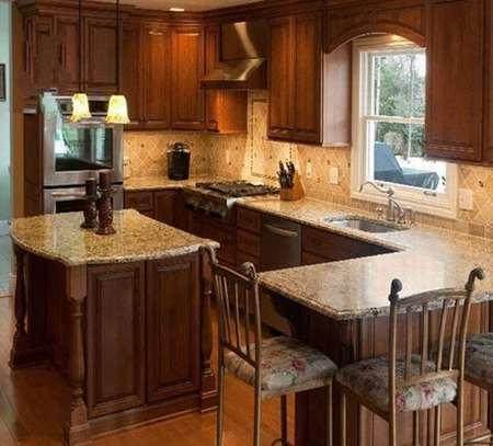 大理石厨房台面4