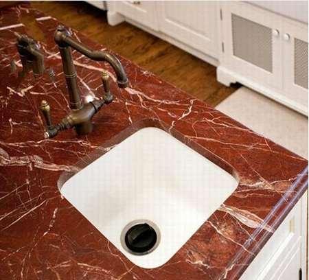 大理石厨房台面2