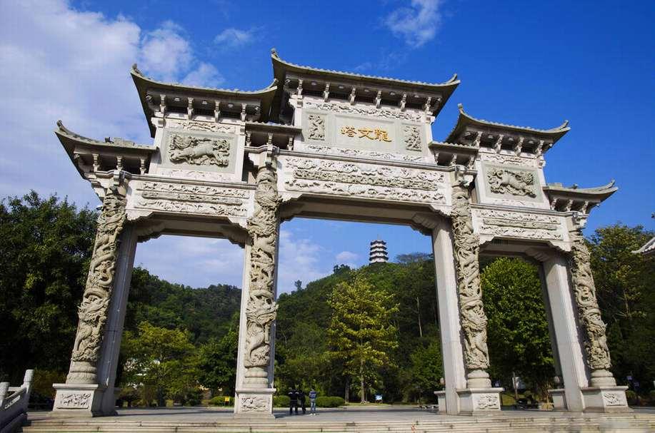龙文塔石雕牌坊
