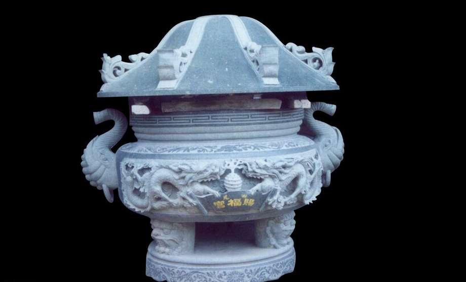 石雕刻香炉