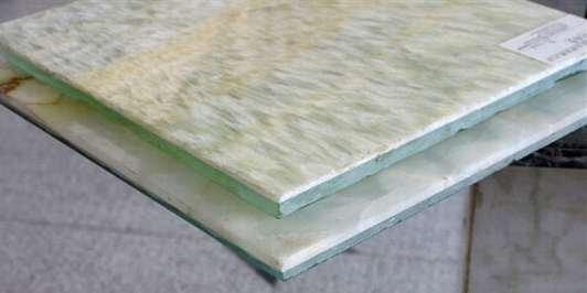 透光石玻璃复合板