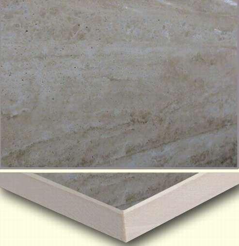 伊朗洞石细花白复合板