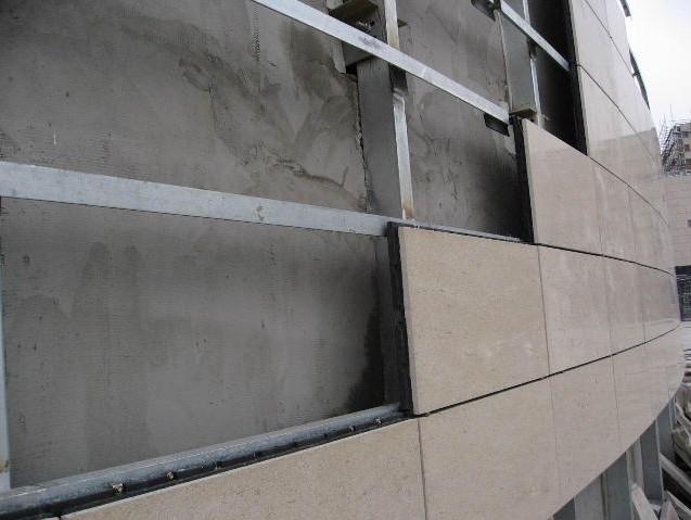 石材表面管卡固定方案