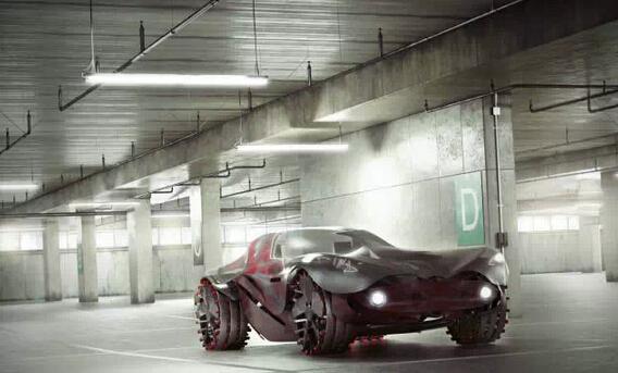 頂級跑車的石材概念化設計