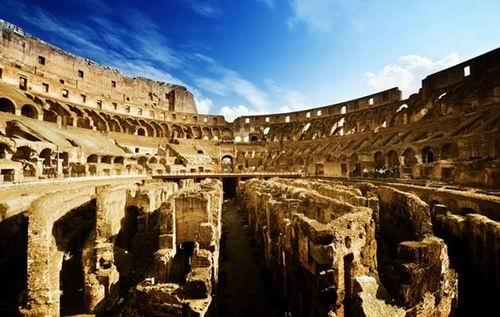 罗马柱:现代建筑文明的特色