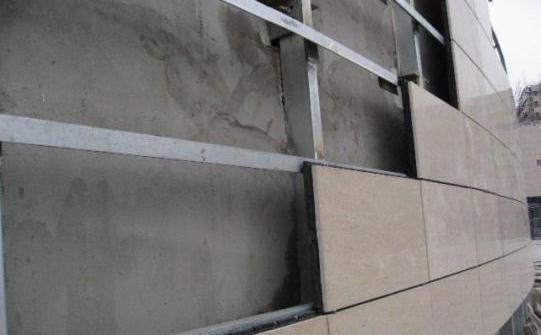 饰面装修之花岗岩干挂的施工流程