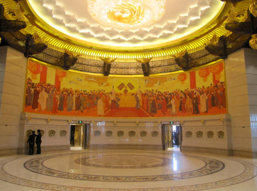 豪华宫殿--洛阳武则天天之圣堂图片