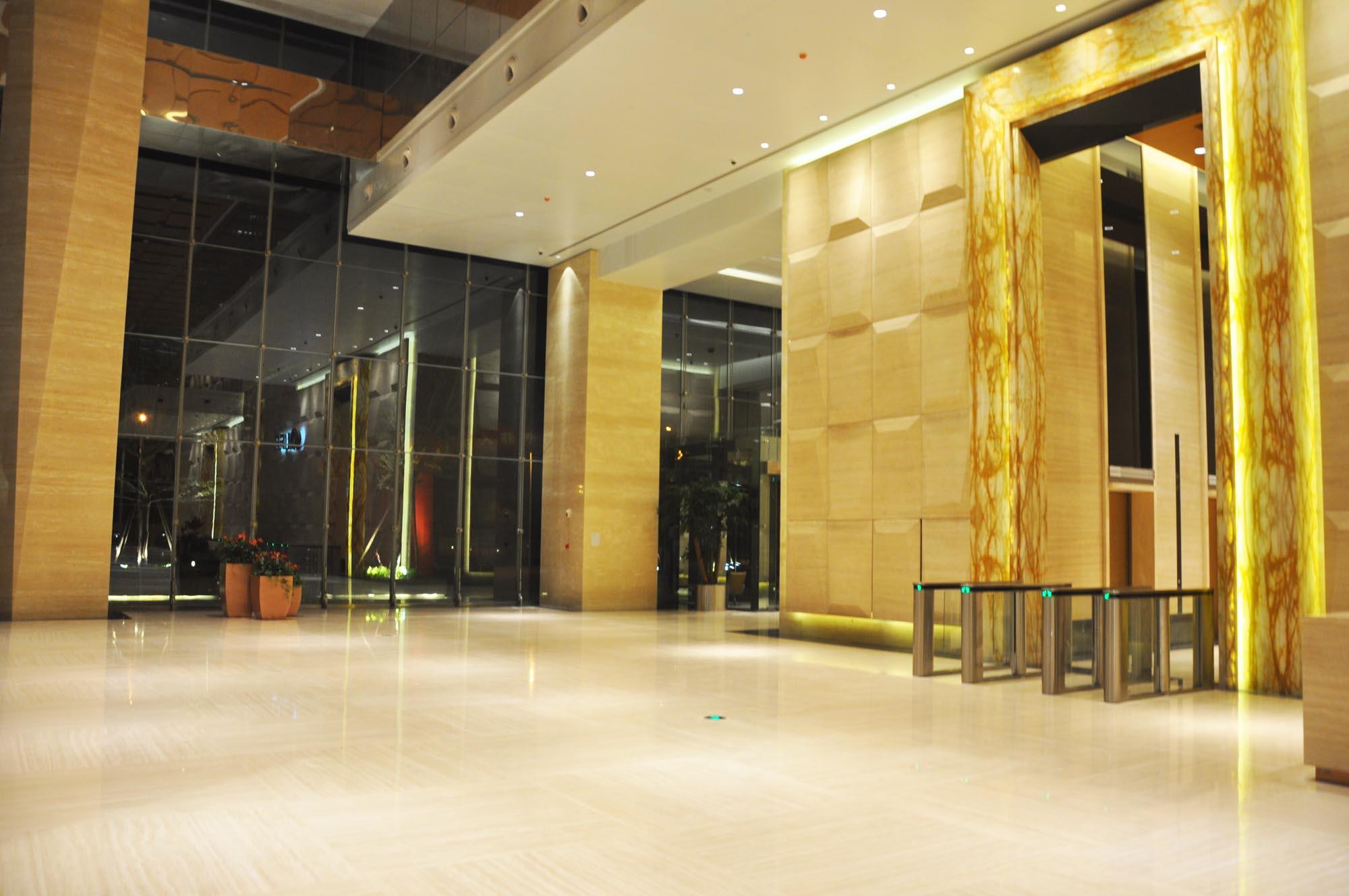 罗马洞石装修设计之升龙环球大厦高清图片