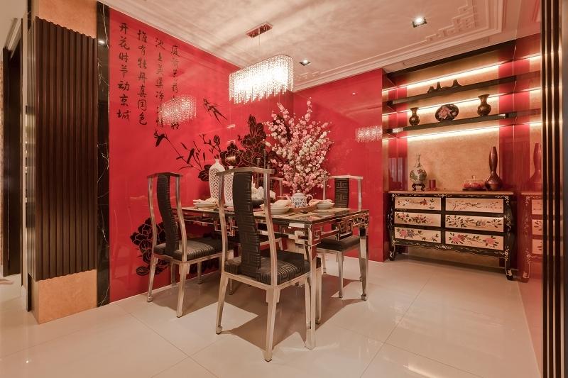 石材在线_白色大理石装修中国风家居