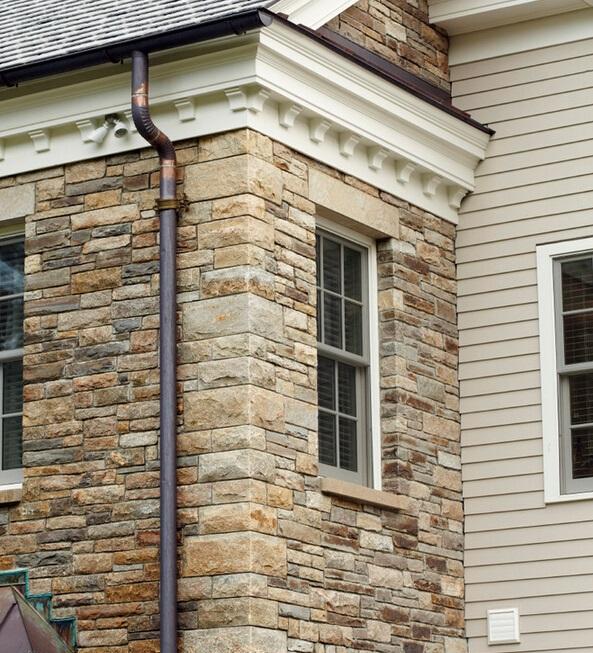 独具艺术性的质感 文化石别墅装修 | 石材装修