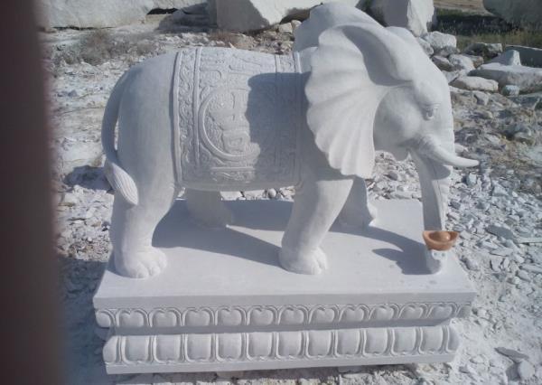 漢白玉大象_漢白玉石象(圖片) 漢白玉大象_漢白玉石象(圖片)圖片