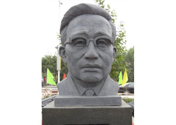 华罗庚雕像_华罗庚雕塑(图片)