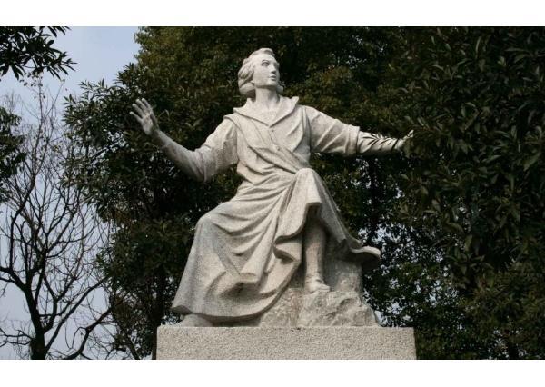 牛頓雕塑_牛頓雕塑(圖片)