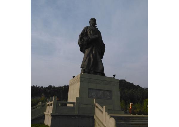 司马迁雕像_司马迁石像(图片)