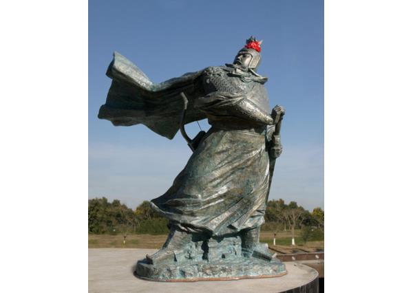 岳飞雕像_岳飞石雕(图片)