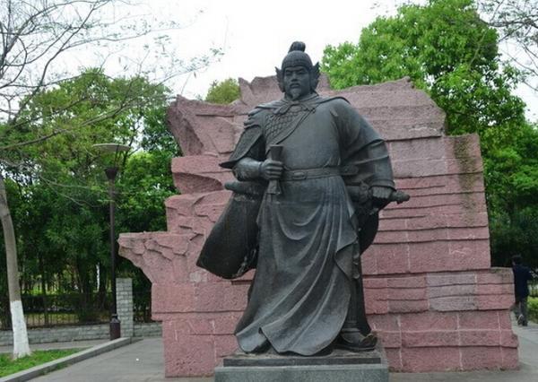岳飞雕像_大理石岳飞像(图片)